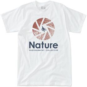 Hippy Tree Shutter Kortærmet T-shirt Herrer, white